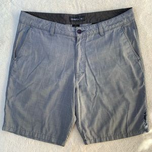 O'Neill Westmont Plaid Shorts sz 36